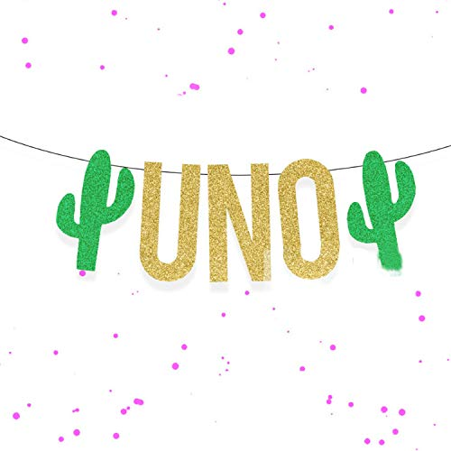 DIYParty Banners Decoration Mexican Cactus Birthday Festival Flags Halloween Easter Anniversary Wedding Supplies 7D,One ()
