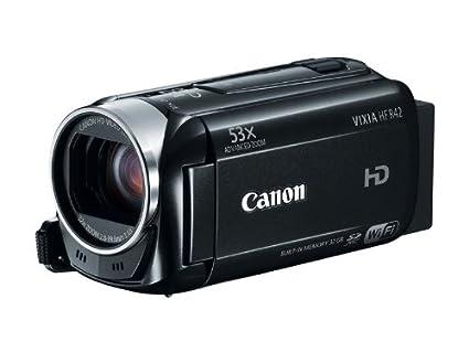 amazon com canon vixia hf r42 hd 53x image stabilized optical zoom rh amazon com