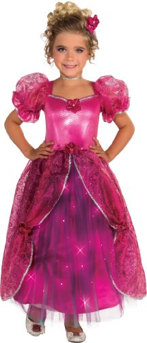 Pretty In Pink Dress Costumes (Pretty-N-Pink Light Up Costume, Large)