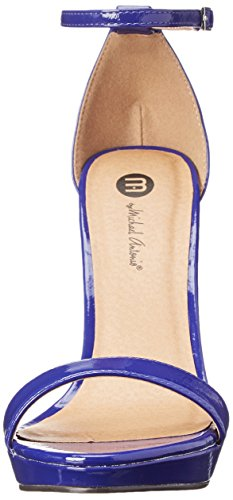 Michael Antonio Womens Lovina Patent Dress Sandal Cobalt V4SsVJ