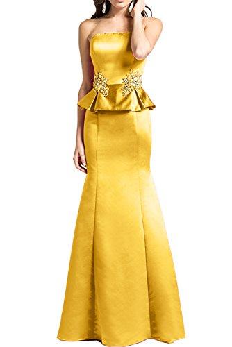 Missdressy - Vestido - Estuche - para mujer amarillo