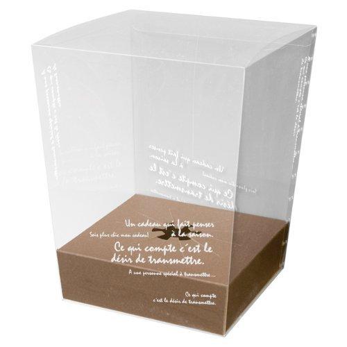 HEADS フラワークリアボックス BKF スタンド付-L (10枚) BKF-FBL まとめ売り 10パック B077M3YN5L