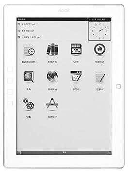 Onyx Boox M96 White - 9.7 Inch E Ink Pearl pantalla lector de ...
