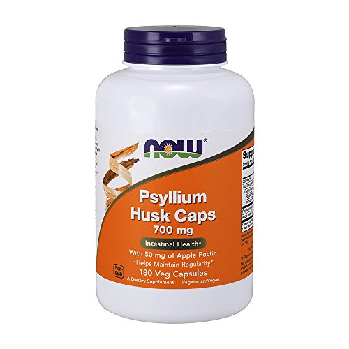NOW Supplements, Psyllium Husk 700 mg, 180 Capsules