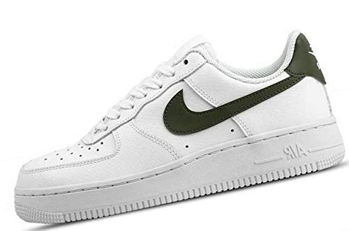 Force medium Donna Da 1 Ginnastica Air Scarpe Multicolore Olive 001 Wmns Basse '07 Nike white Hq7w4w