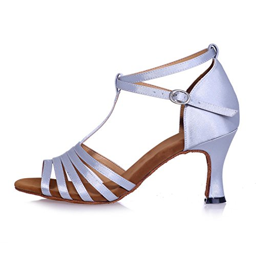 Moderne Taille Danse Standard Exposés Femmes L Chaussures Haut Multi red Couleur Lunettes Grande soleil Personnalisée YC de Talons Toe Jazz AqpTwnI