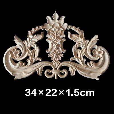 Buy 48 Vintage Floral Carved Wood Carved Corner Applique Wall Door Awesome Fal Wood Furniture Decor