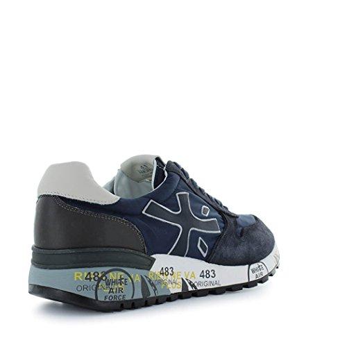 PREMIATA Zapatos de Hombre Zapatilla Mick 2818 Azul Primavera Verano 2018