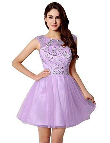 Violett A Damen Kleid Drasawee Linie fIYwYv