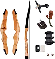 """SinoArt 70"""" Takedown Recurve Bow Adult Archery Competition Athletic Bow Weights 14-40 LB Right Handed Arc"""