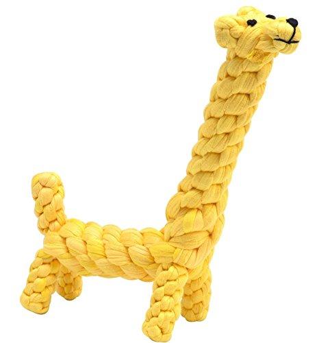 BINGPET Upgrade Cotton Giraffe Biting