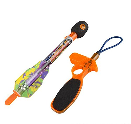 9.5'' WHISTLE LIGHT UP ROCKET, Case of 60 by DollarItemDirect