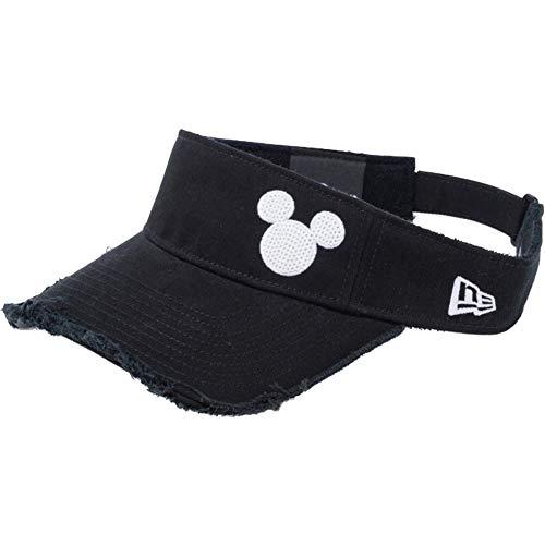 [ニューエラ]×ディズニー サンバイザー ゴルフ シークインド ミッキーマウス 11781166