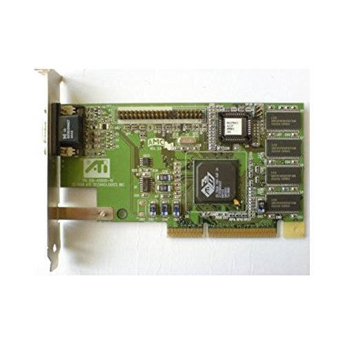 ATI Rage 128 Pro 16MB AGP Video Card, PN 109-63000-00 - 1026301301 023068