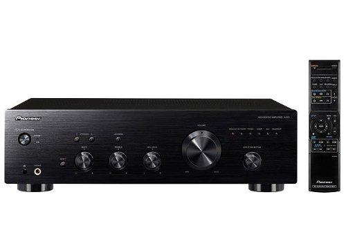 Pioneer A-20-K Stereo-Verstärker (2x 50 Watt, Loudness Funktion) schwarz