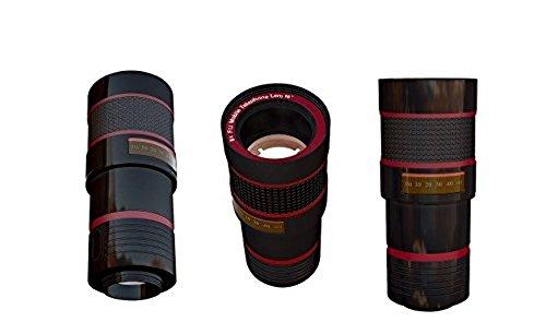 Tzumi SmartLens - 8X Zoom Clip-On Camera Lens - Black