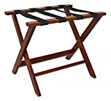 Ex-Cell Folding Luggage Rack Box of 6 - Walnut