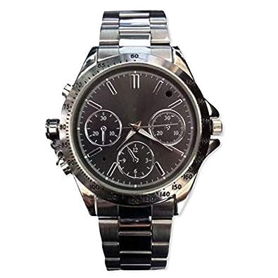 Reloj con cámara espía espionne memoria de 4 GB, color negro: Amazon.es: Joyería