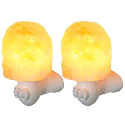 Simply Genius  Himalayan Salt Lamp Night Light, Natural Crys