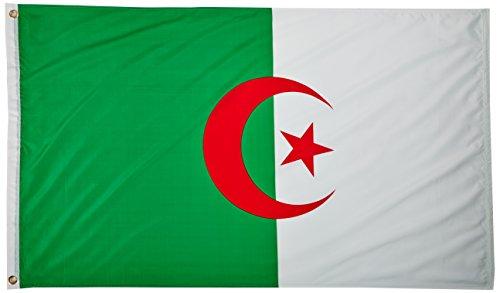 US Flag Store Algeria 3ft x 5ft Printed Polyester Flag