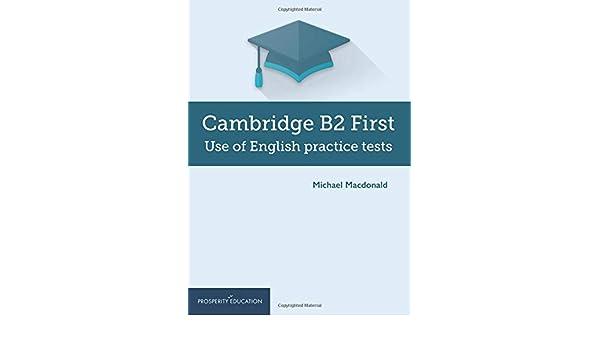 Amazon com: Cambridge B2 First Use of English Practice Tests