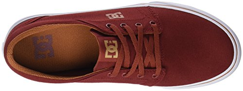 Trase Homme Mode Baskets Tx Rouge Dc Burgundy Shoes fqU688