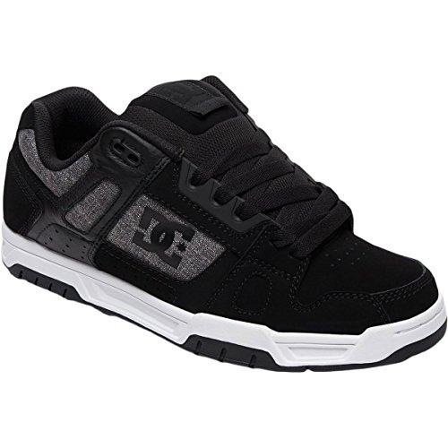Dc Mens Sneaker Uomo Nero / Grigio / Bianco