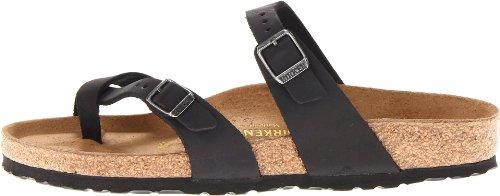 Birkenstock Women's Mayari Leather Thong Sandal,Black,EU Size 37 / Women's US Size 6-6.5 by Birkenstock (Image #5)