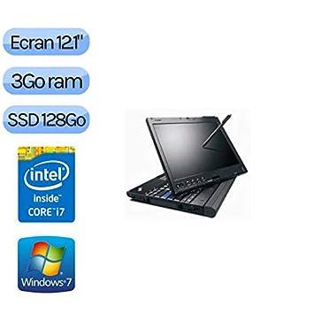 Lenovo X201 Tablet - Windows 7 - i7 3 GB 128 GB SSD - 12.1 ...
