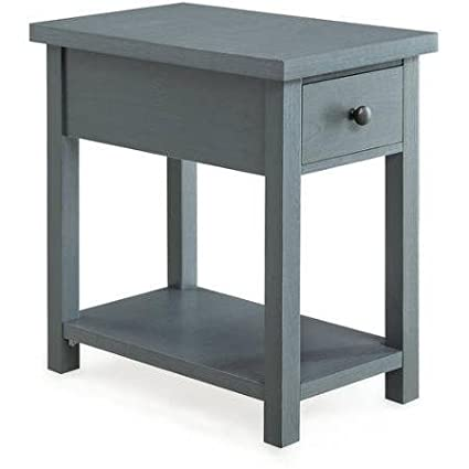 Amazon.com: Blue End Table with Drawer Better Homes and Gardens ...