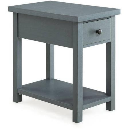 Blue End Table with Drawer Better Homes and Gardens Furniture from Better Homes and Gardens