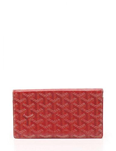 (ゴヤール) GOYARD リシュリュー 二つ折り長財布 PVC 赤 中古 B07DL22S7X