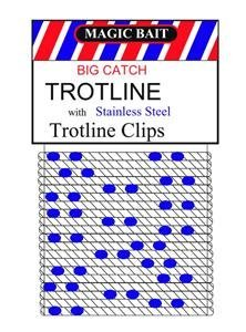 Magic Bait Big Catch 150-Feet Trotline, (Catch Line)