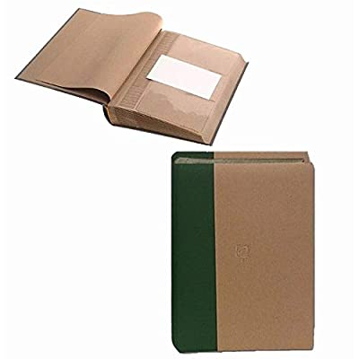 ECO-Paper RIBBED album holds 300 4x6-/4x12 photos with memo area - 4x6