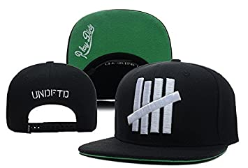 78ccb84cb1764 Image Unavailable. Image not available for. Colour  Black Undefeated 5  Strike Men s Snapback Cap ...