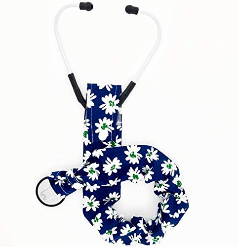 Stethoscope Cover, Snap Bottom, Daisies