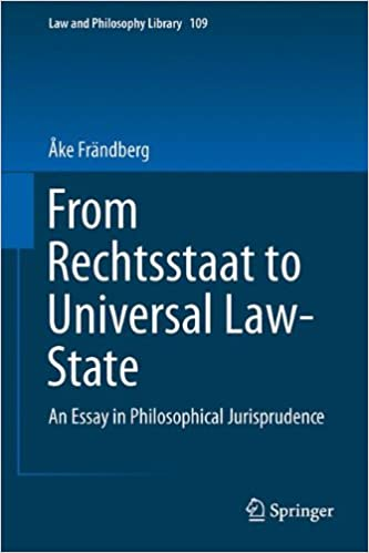 From Rechtsstaat To Universal Lawstate An Essay In Philosophical  From Rechtsstaat To Universal Lawstate An Essay In Philosophical  Jurisprudence Law And Philosophy Library Th Edition Reflective Essay English Class also Essay For High School Students  What Is Business Ethics Essay