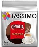 Tassimo Gevalia Kaffe Espresso Coffee T-Discs, Pack of 2 (32 T-Discs)
