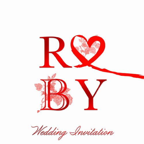 - 40th Ruby Wedding Anniversary Invitations (Pack of 6 Quality Cards & Envelopes)