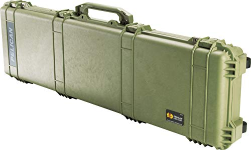 Pelican 1750 Rifle Case With Foam (OD Green)