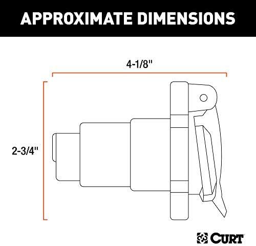 car trailer wiring diagram nz amazon com curt 58150 vehicle side rv blade 7 way trailer wiring  curt 58150 vehicle side rv blade 7 way