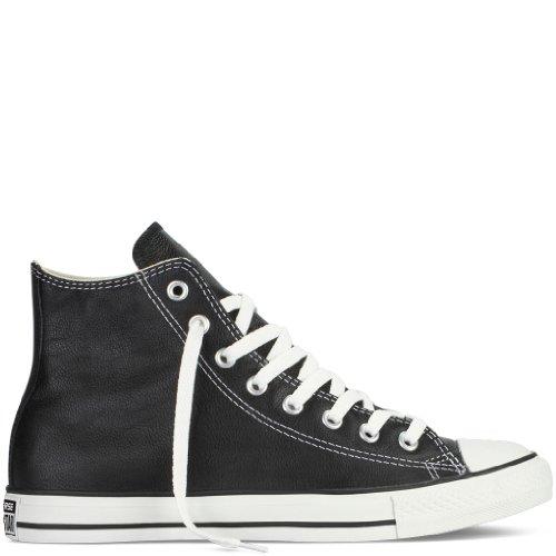 - Converse Chuck Taylor All Star Hi Top Black Leather men's 7.5/ women's 9.5
