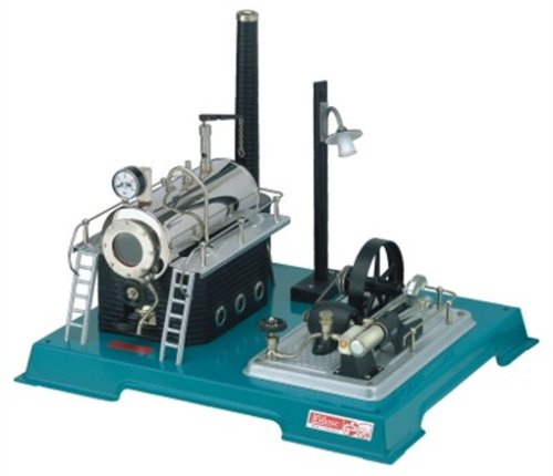 Wilesco D18 Steam Engine with Generator