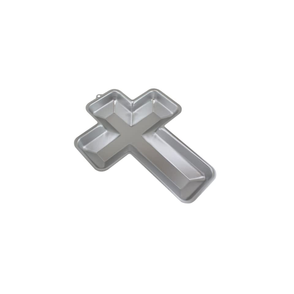 WILTON Aluminum Cross Cake Pan