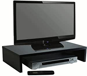 """5.25 High TV Stand 25"""" Wide, BLACK"""