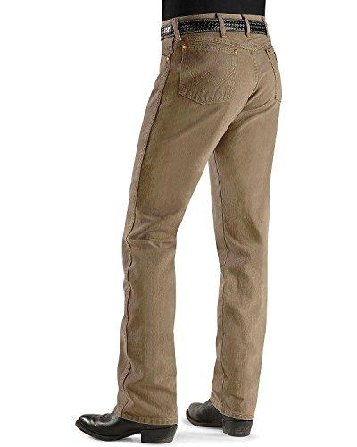 Best Wrangler Men S Jeans 13mwz Original Fit Prewashed Colors Trail Dust 42w X 32l Reviews From