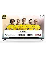 CHiQ U58H7A - 58 inch 4K Ultra HD - Android 9.0 - Chromecast - Dolby Audio