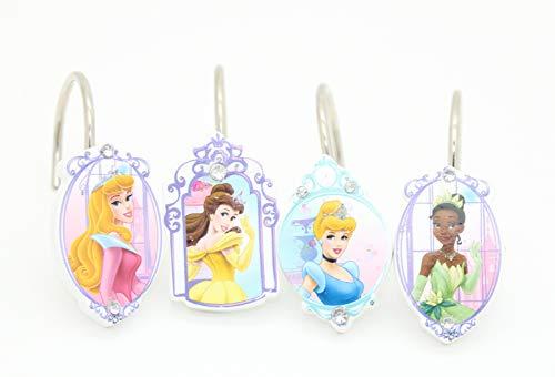 Disney Princess Shower Curtain Hooks Kids Girls ()