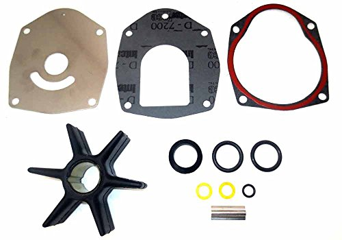 Engineered Marine Products MerCruiser Water Pump Impeller Kit, Alpha 1 - GEN 2 - EMP Replaces- 18-3214, 47-43026Q06 (Mercury Alpha One)