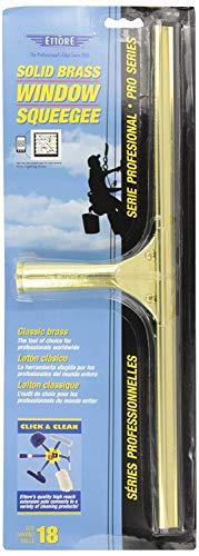 Ettore 10018 Solid Brass Window Squeegee, ()